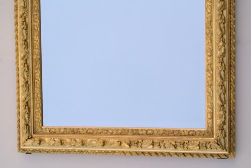 Mirror with sharp angles mid 19th century -