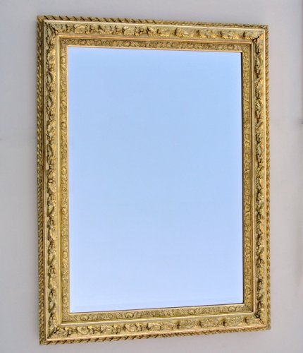 Restauration - Charles X - Mirror with sharp angles mid 19th century