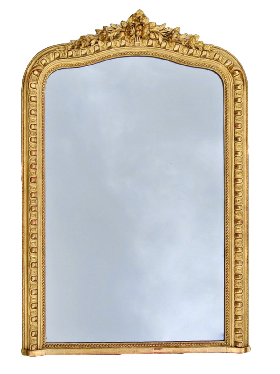 Miroir d 39 poque napol on iii xixe si cle for Miroir napoleon iii