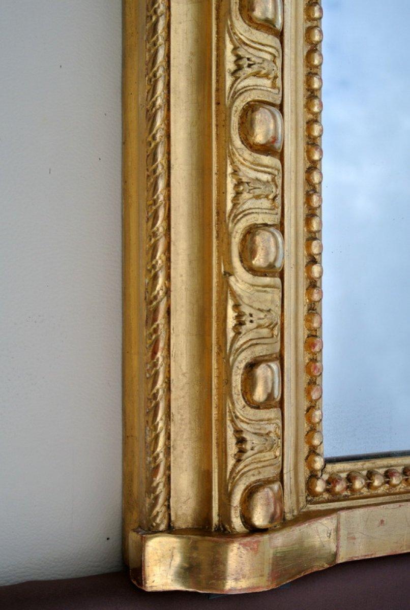 Miroir d 39 poque napol on iii xixe si cle for On traverse un miroir