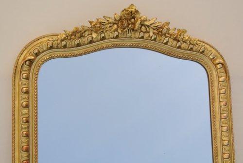 Napoléon III mirror - Mirrors, Trumeau Style Napoléon III