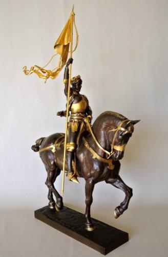 Sculpture  - Jeanne d'Arc - Emmanuel Frémiet