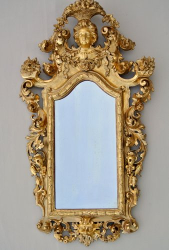 Early 19th century Giltwood Mirror - Mirrors, Trumeau Style