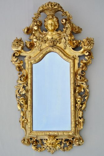 Mirrors, Trumeau  - Early 19th century Giltwood Mirror