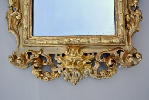 Antiquités - Early 19th century Giltwood Mirror