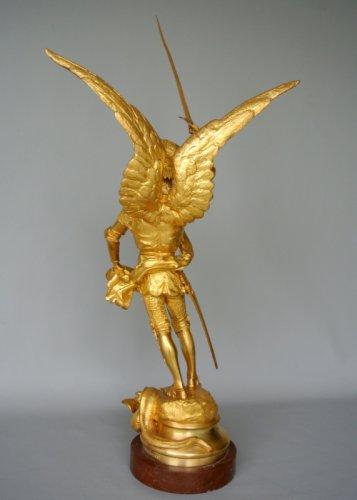 Sculpture  - Saint Michel - Emmanuel Frémiet
