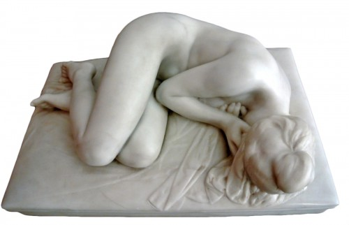 Marble Sculpture - Karl MERZ  (1869-1950)