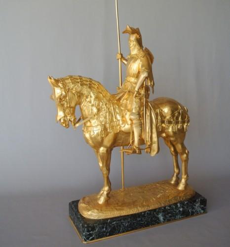 Louis d'Orléans, bronze signed Frémiet - Sculpture Style