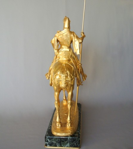 20th century - Louis d'Orléans, bronze signed Frémiet