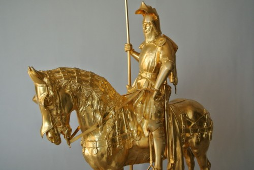 - Louis d'Orléans, bronze signed Frémiet