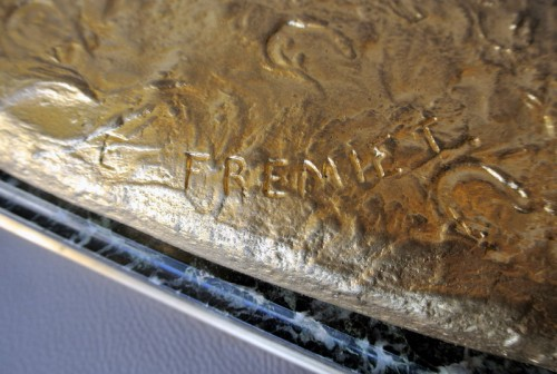 Antiquités - Louis d'Orléans, bronze signed Frémiet
