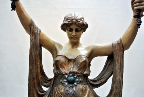 Terracotta of  Goldscheider - Sculpture Style Art nouveau