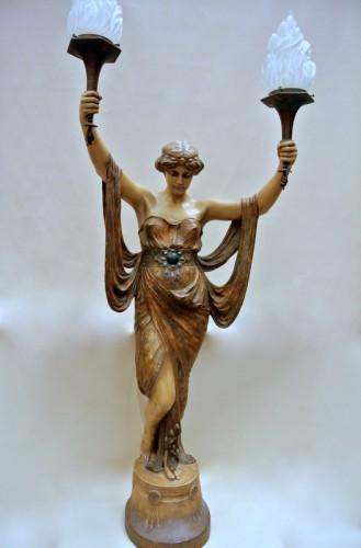 20th century - Terracotta of  Goldscheider