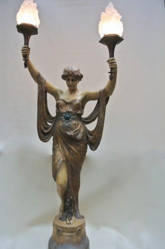Art nouveau - Terracotta of  Goldscheider