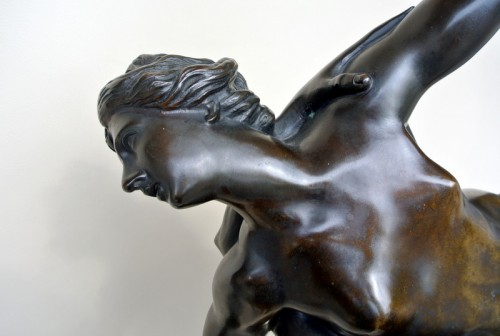 Napoléon III - The Rape of the Sabine Women - Bronze group of the late 19th century