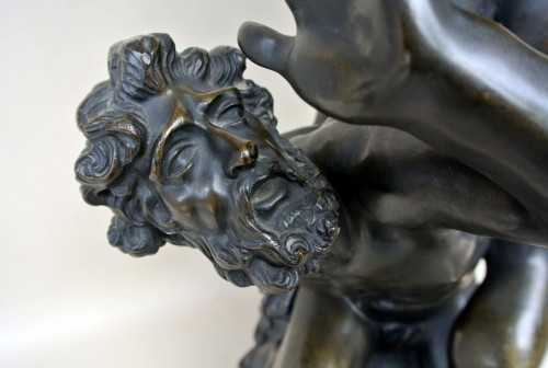 Antiquités - The Rape of the Sabine Women - Bronze group of the late 19th century