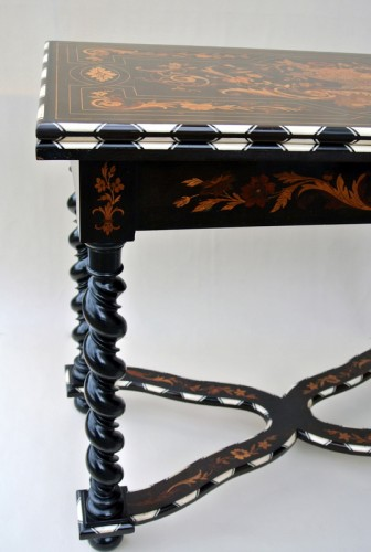 Table à jeux époque Napoléon III - Furniture Style Napoléon III