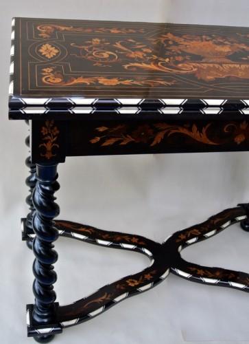 Napoléon III - Table à jeux époque Napoléon III