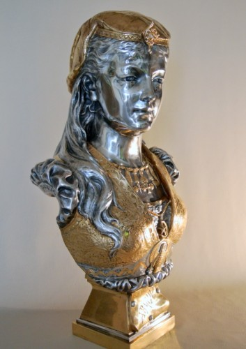 Armide - Zacharie Rimbez (late 19th century) - Sculpture Style Art nouveau