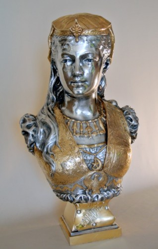 Sculpture  - Armide - Zacharie Rimbez (late 19th century)