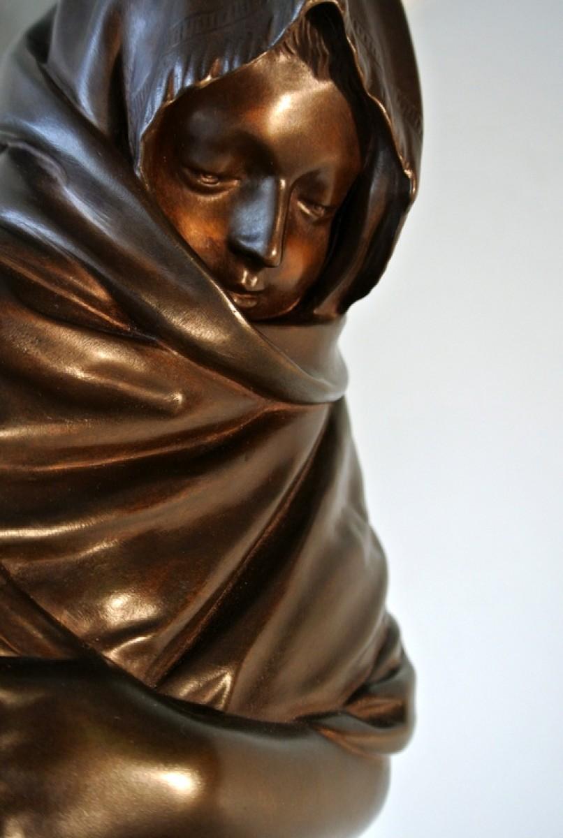 Quot La Frileuse Quot Bronze Figure After Houdon Ref 70639