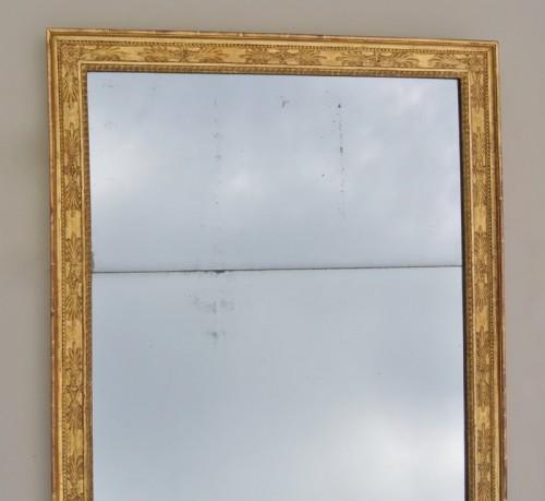 Mirror circa 1830 - Mirrors, Trumeau Style Restauration - Charles X
