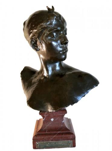 """Diane Chasseresse"" by Alexandre Falguière"
