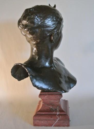 """Diane Chasseresse"" by Alexandre Falguière -"