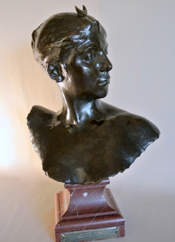 """""""Diane Chasseresse"""" by Alexandre Falguière - Art nouveau"""