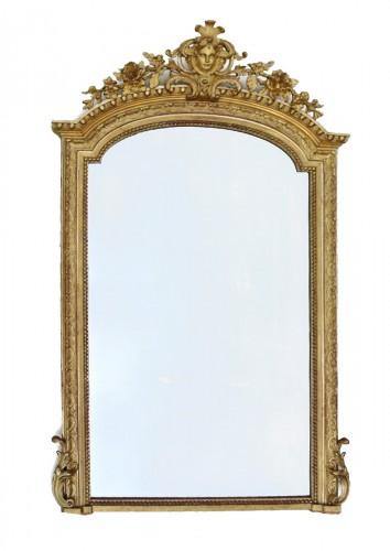 Large Napoléon III  mirror