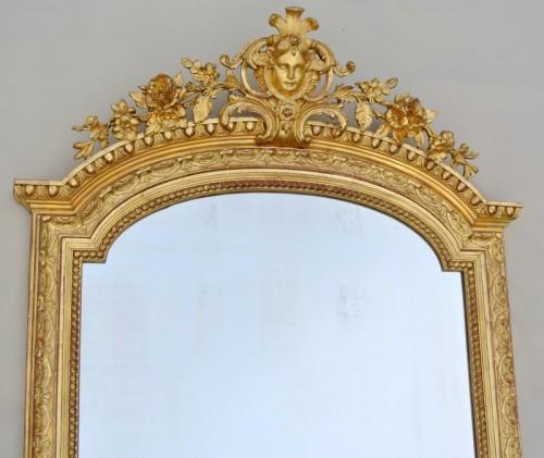 Large Napoléon III  mirror - Mirrors, Trumeau Style Napoléon III