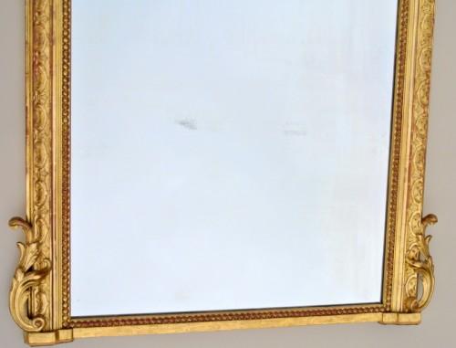 Mirrors, Trumeau  - Large Napoléon III  mirror