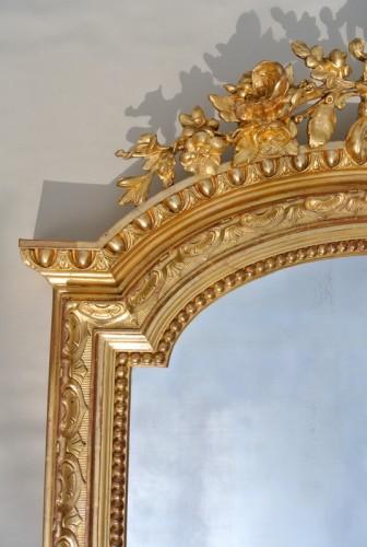 Large Napoléon III  mirror -