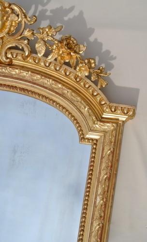 Large Napoléon III  mirror - Napoléon III