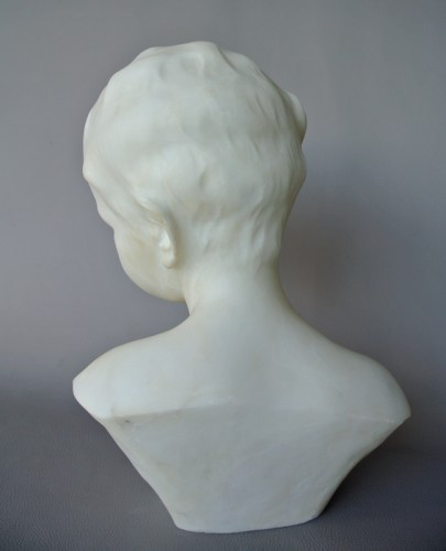 Sculpture  - Alabaster signed Dante Zoi (XIXth/XXth)