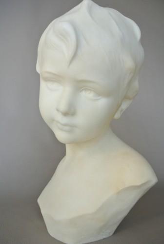 Art Déco - Alabaster signed Dante Zoi (XIXth/XXth)