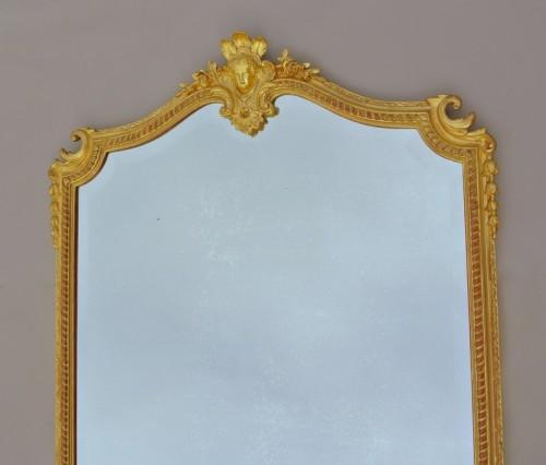 Napoléon III mirror XIXth century - Mirrors, Trumeau Style Napoléon III