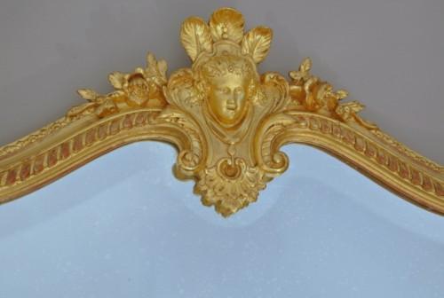 Napoléon III mirror XIXth century - Napoléon III