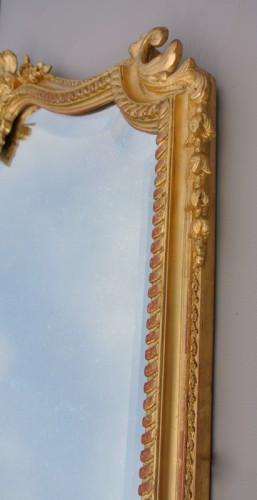 Antiquités -  Napoléon III mirror XIXth century