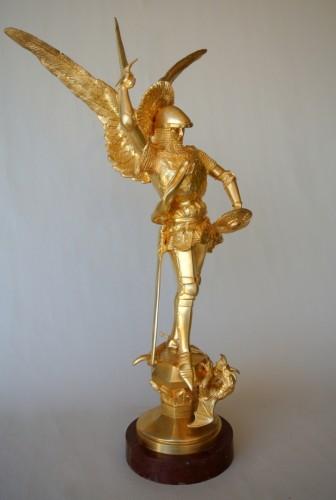 """""""Saint Michel"""" par Emmanuel Frémiet 1824/1910 -"""