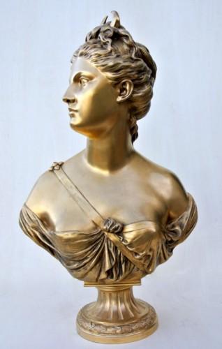 """""""Diane"""" by Houdon - Sculpture Style Art nouveau"""