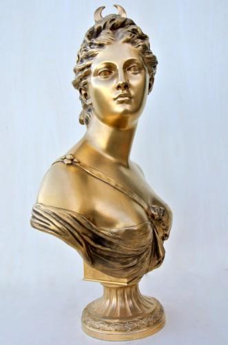 """""""Diane"""" by Houdon - Art nouveau"""