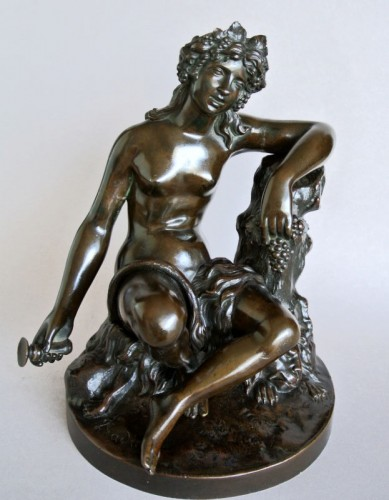 """Bacchante"" by James Pradier 1790/1852 - Sculpture Style Napoléon III"