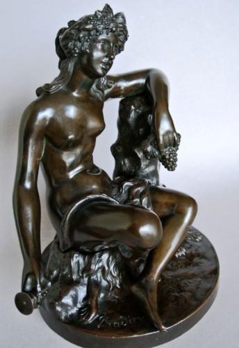"""Napoléon III - """"Bacchante"""" by James Pradier 1790/1852"""