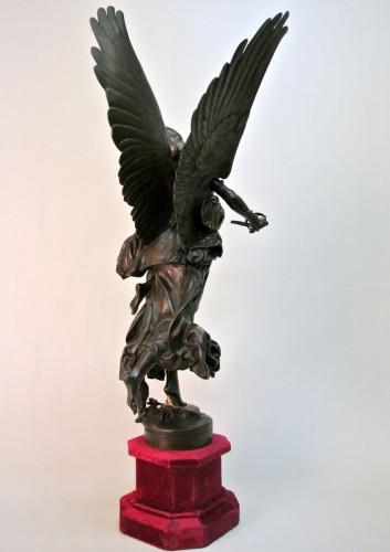 """Gloria Victis"" by  Antonin Mercié 1845 /1916 -"