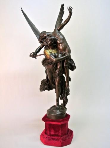 """""""Gloria Victis"""" by  Antonin Mercié 1845 /1916 - Art nouveau"""
