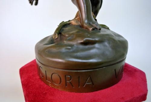 "Antiquités - ""Gloria Victis"" by  Antonin Mercié 1845 /1916"