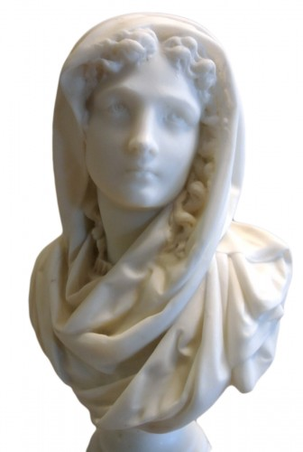 Buste signé CARRIER-BELLEUSE (1824/1887)