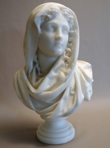 Buste signé CARRIER-BELLEUSE (1824/1887) -