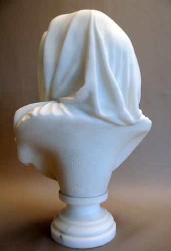 Buste signé CARRIER-BELLEUSE (1824/1887) - Art nouveau
